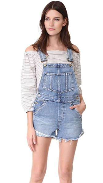 Joe's Jeans x Taylor Hill The Short Overalls In Cece