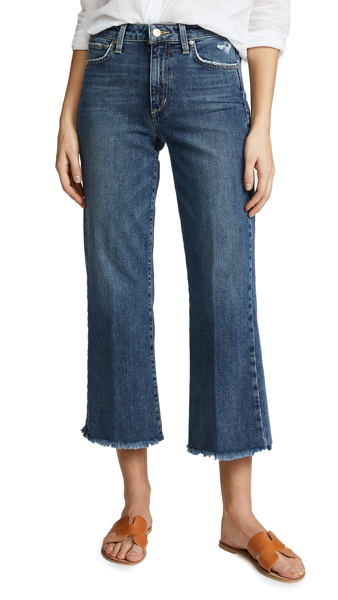 THE WYATT HIGH RISE RETRO CROP JEANS