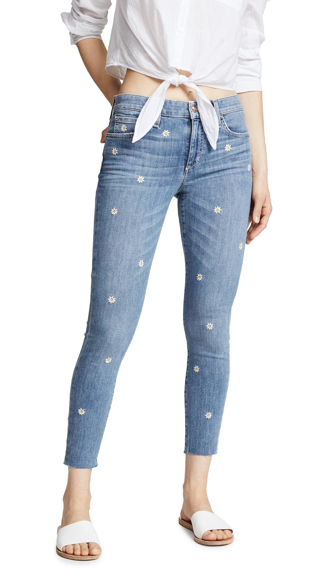 Joe's Jeans Icon Cropped Skinny Jeans In Priscilla