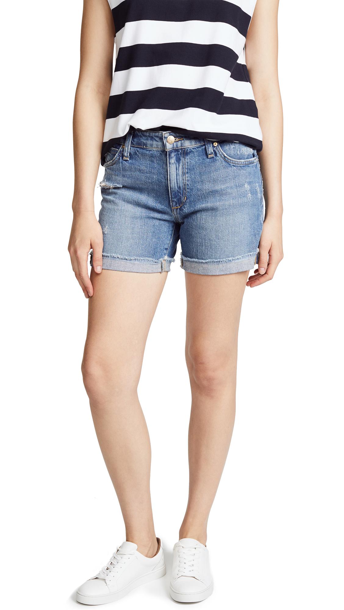 Joe's Jeans Short Cuffed Bermuda Shorts