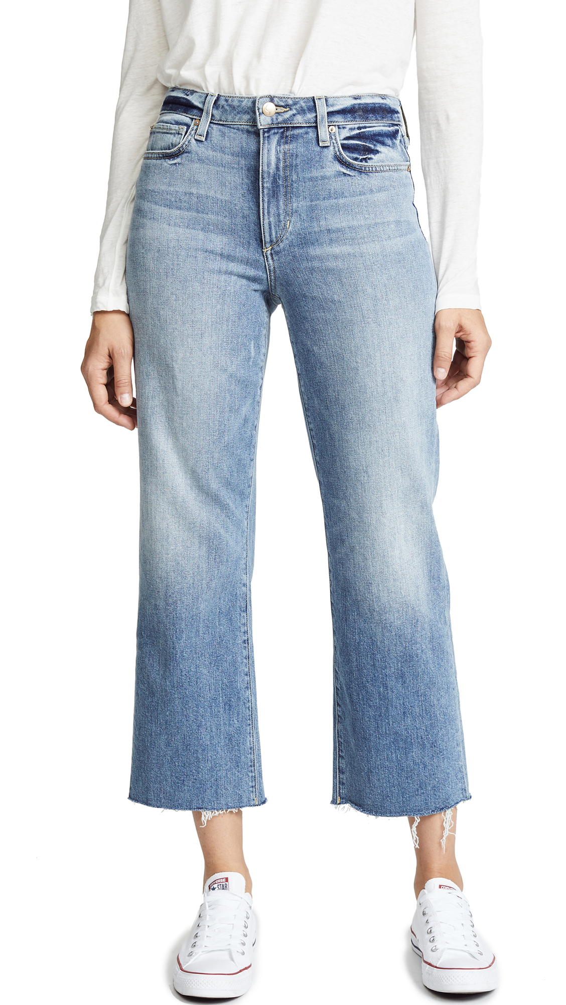 THE WYATT CUT HEM JEANS