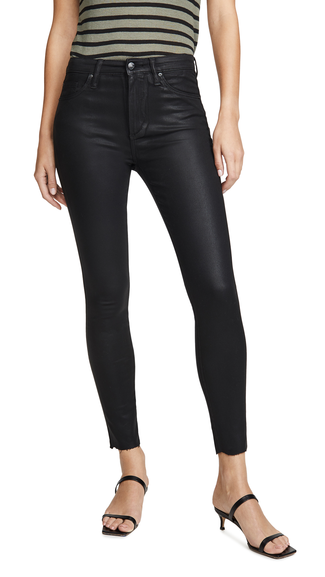Buy Joe's Jeans online - photo of Joe's Jeans The Charlie Coated Ankle Jeans