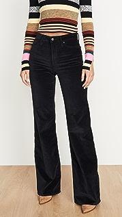 Joe's Jeans Расклешенные джинсы с высокой посадкой Molly
