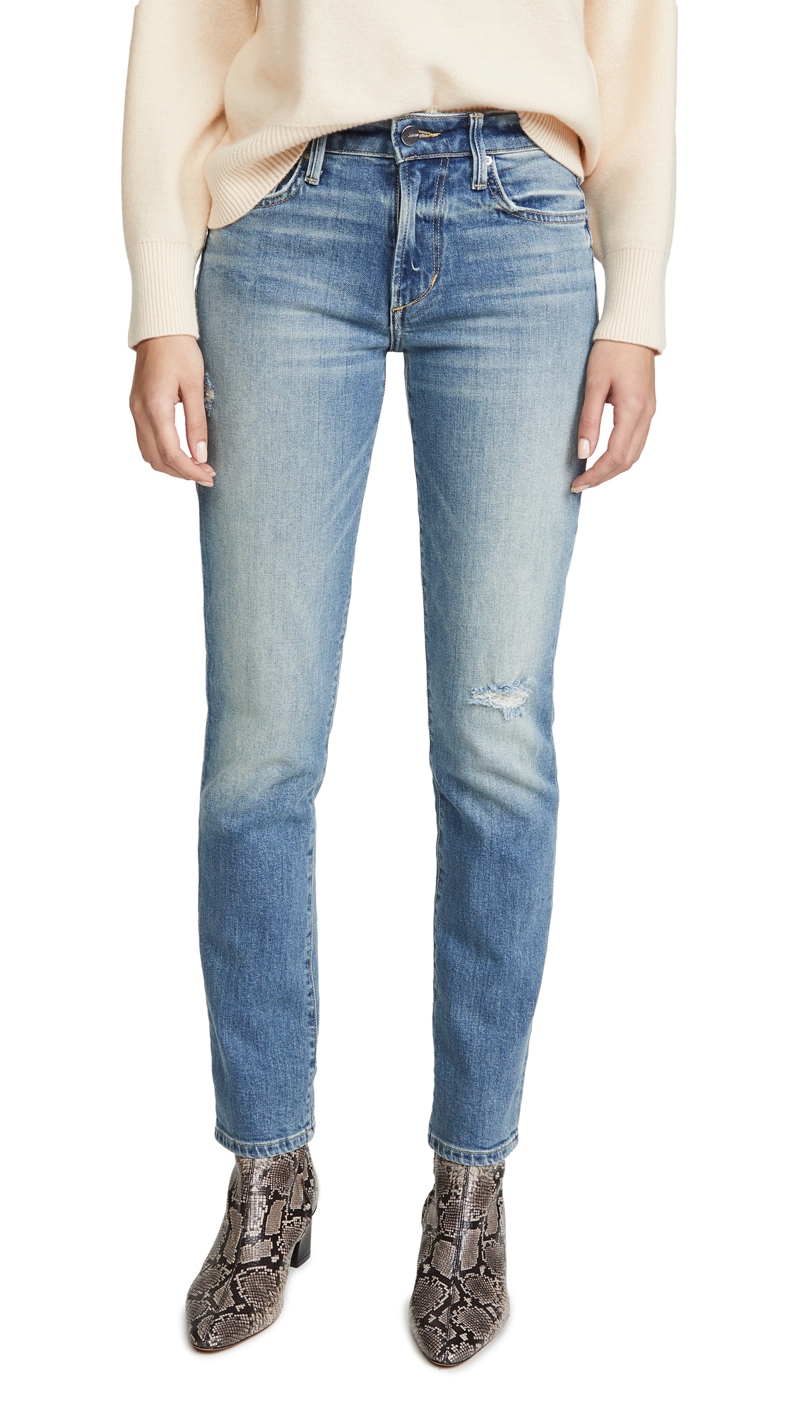 Buy Joe's Jeans online - photo of Joe's Jeans The Lara Mid Rise Cigarette Jeans