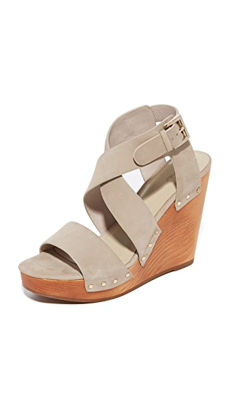 Joie Cecilia Wedge Sandals - Dove at Shopbop