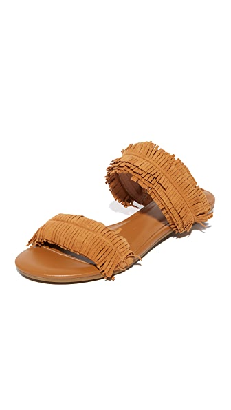 Joie Pippa Slide Sandals - Whiskey at Shopbop