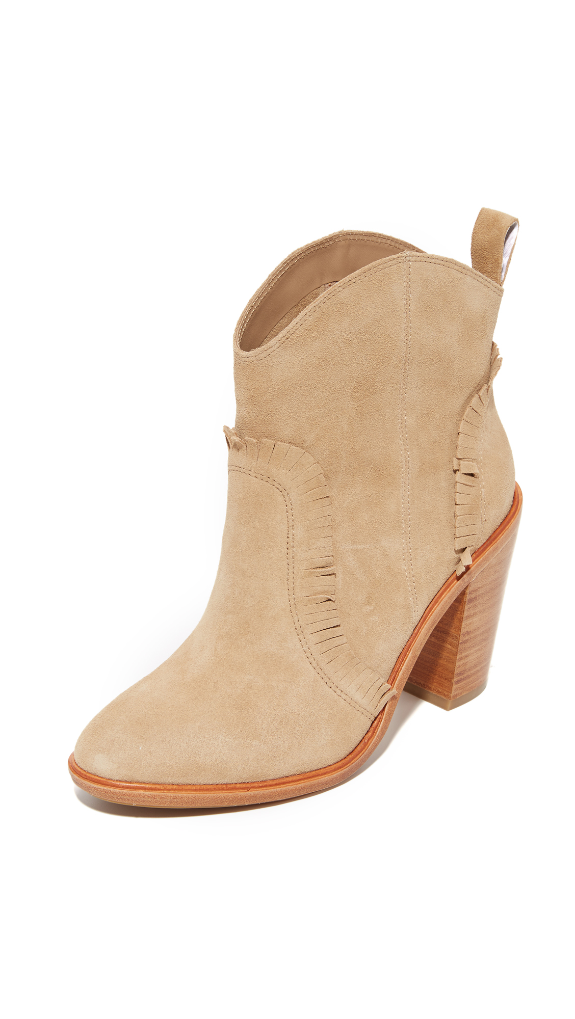 Joie Mathilde Booties - Buff