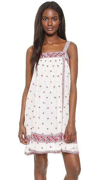 Joie Parillo Dress - Porcelain/Shades Of Coral Rose at Shopbop