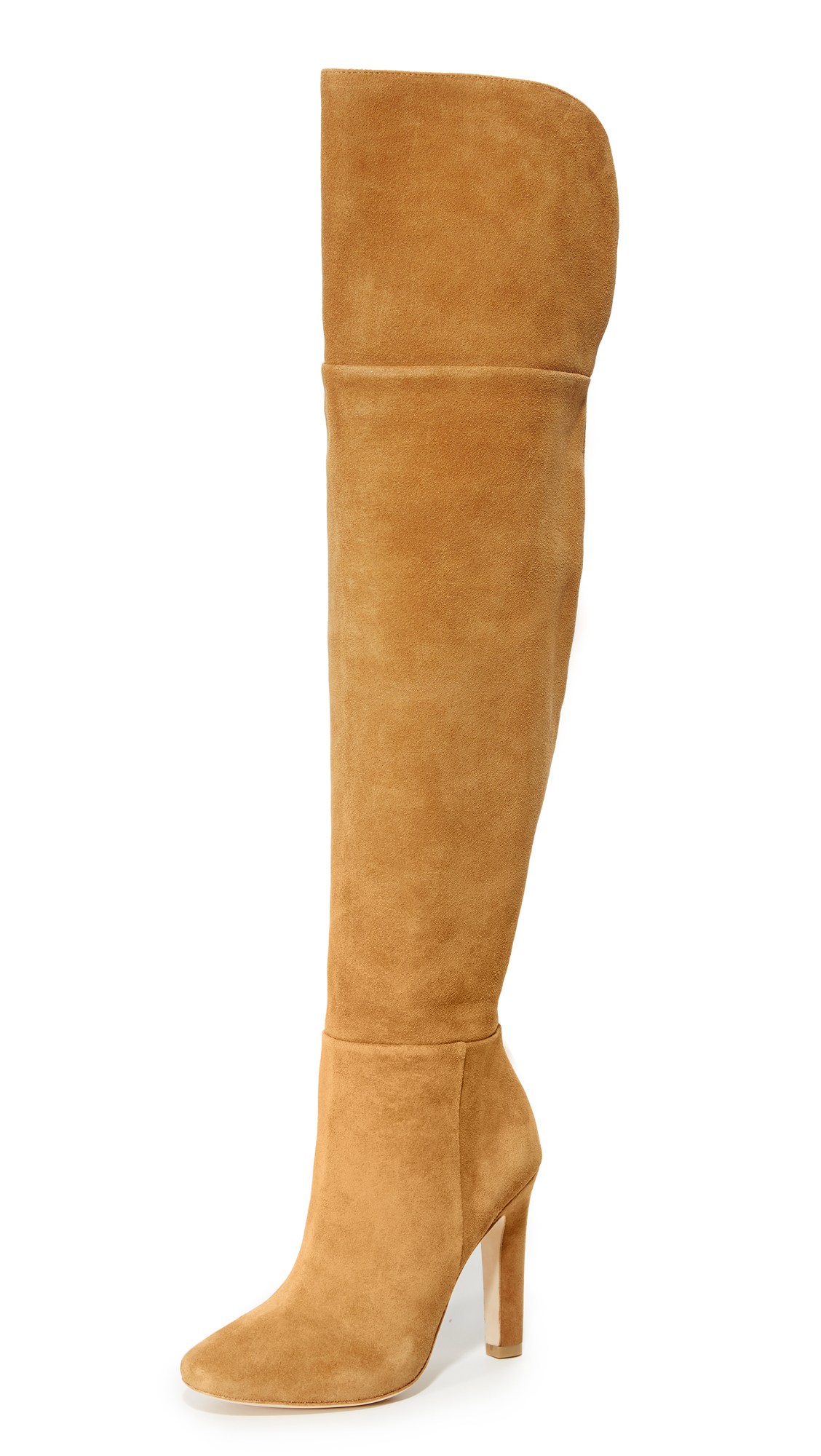 Joie Bentlee Tall Boots - Chestnut
