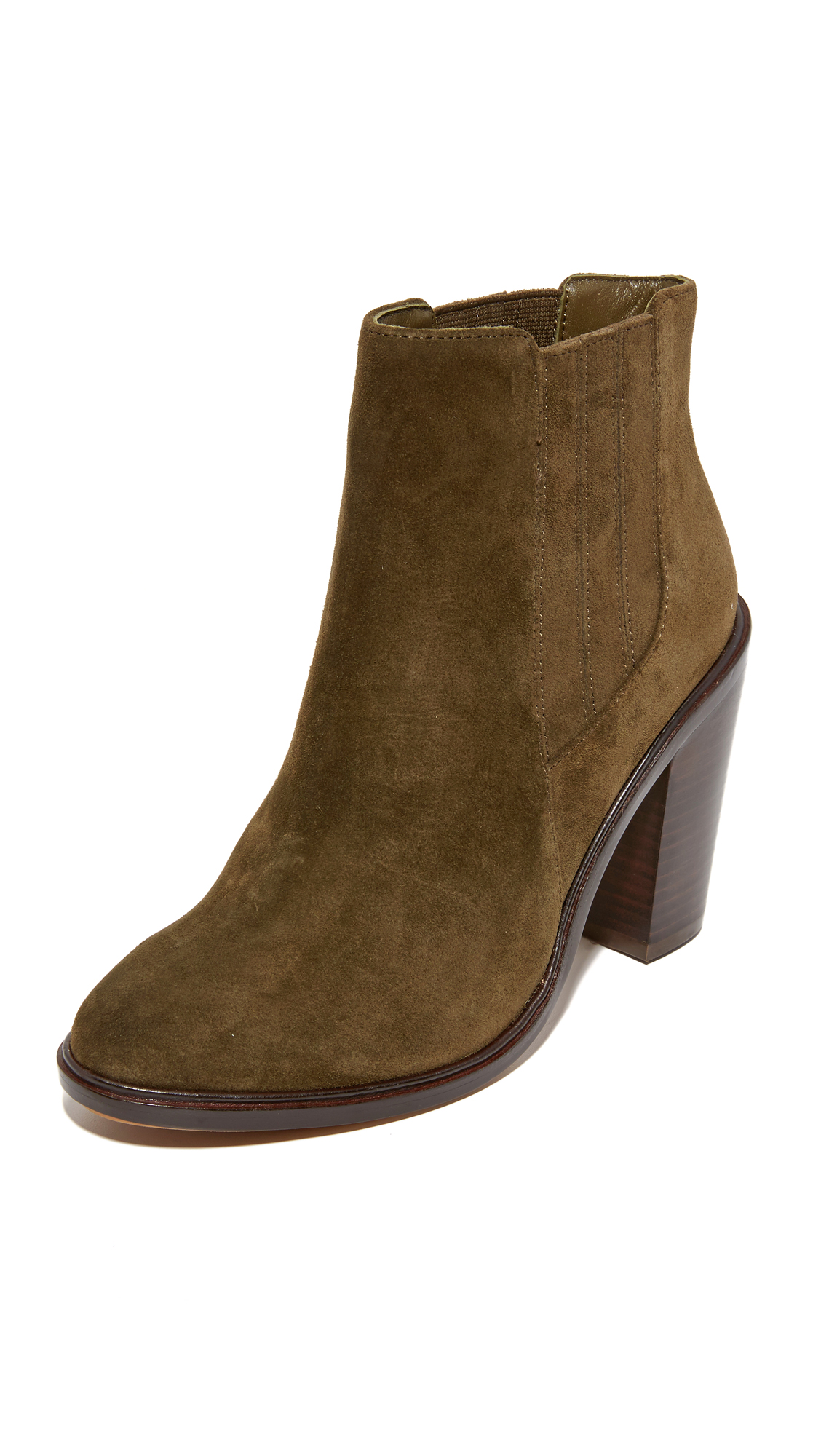Joie Cloee Booties - Deep Olive at Shopbop