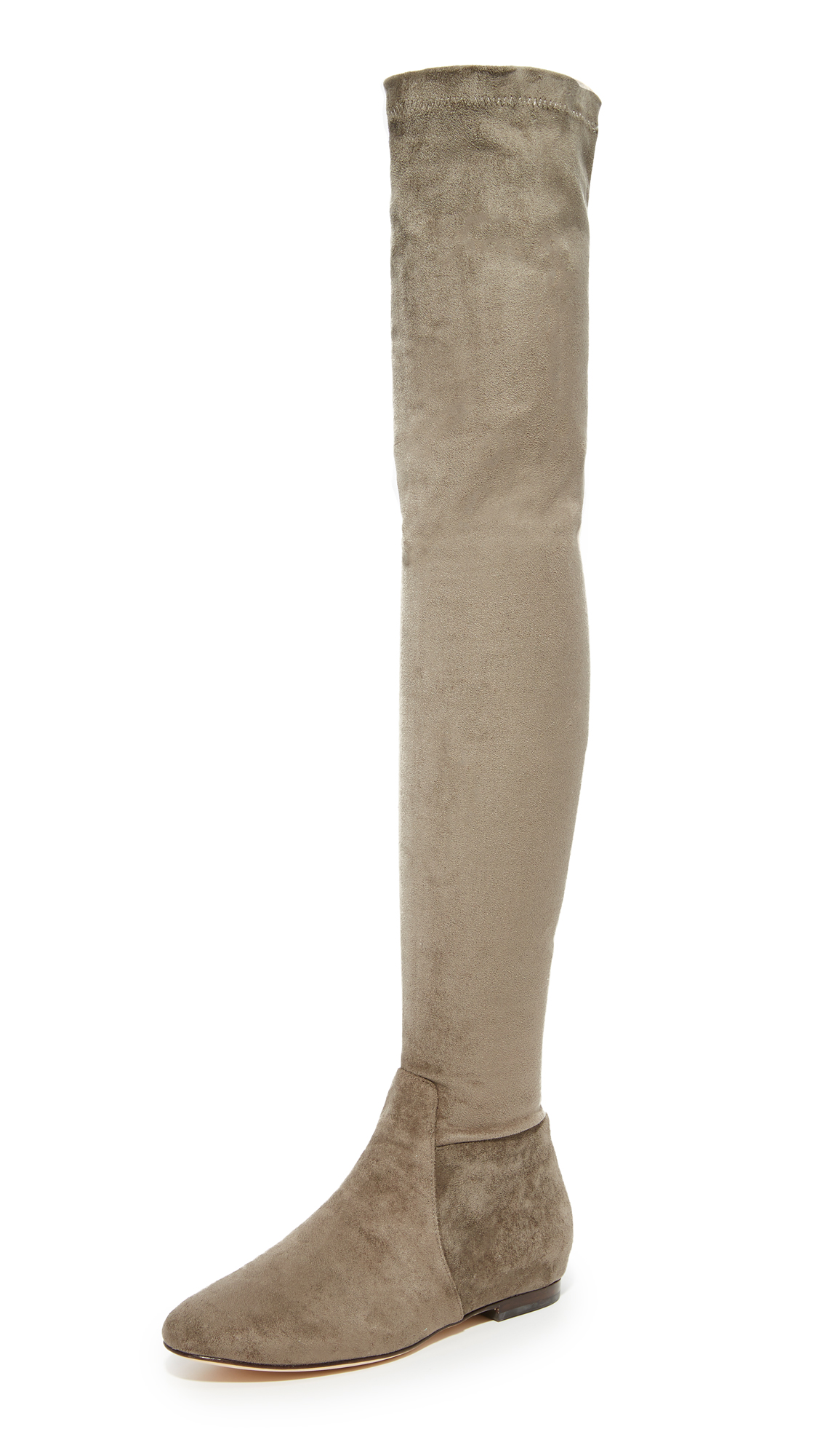 Joie Hayleigh Over The Knee Boots - Graphite