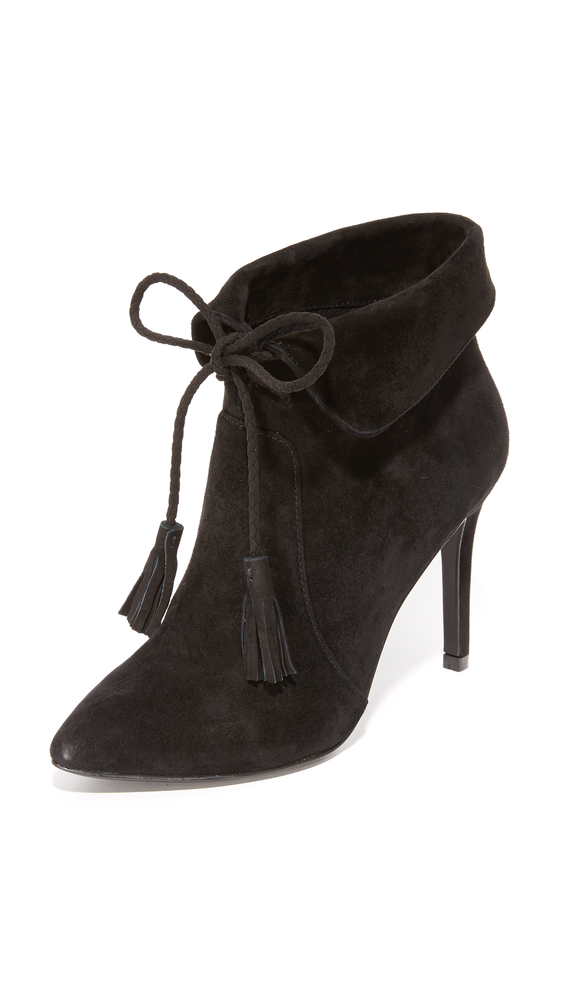 Joie Ciera Tassel Booties - Black at Shopbop