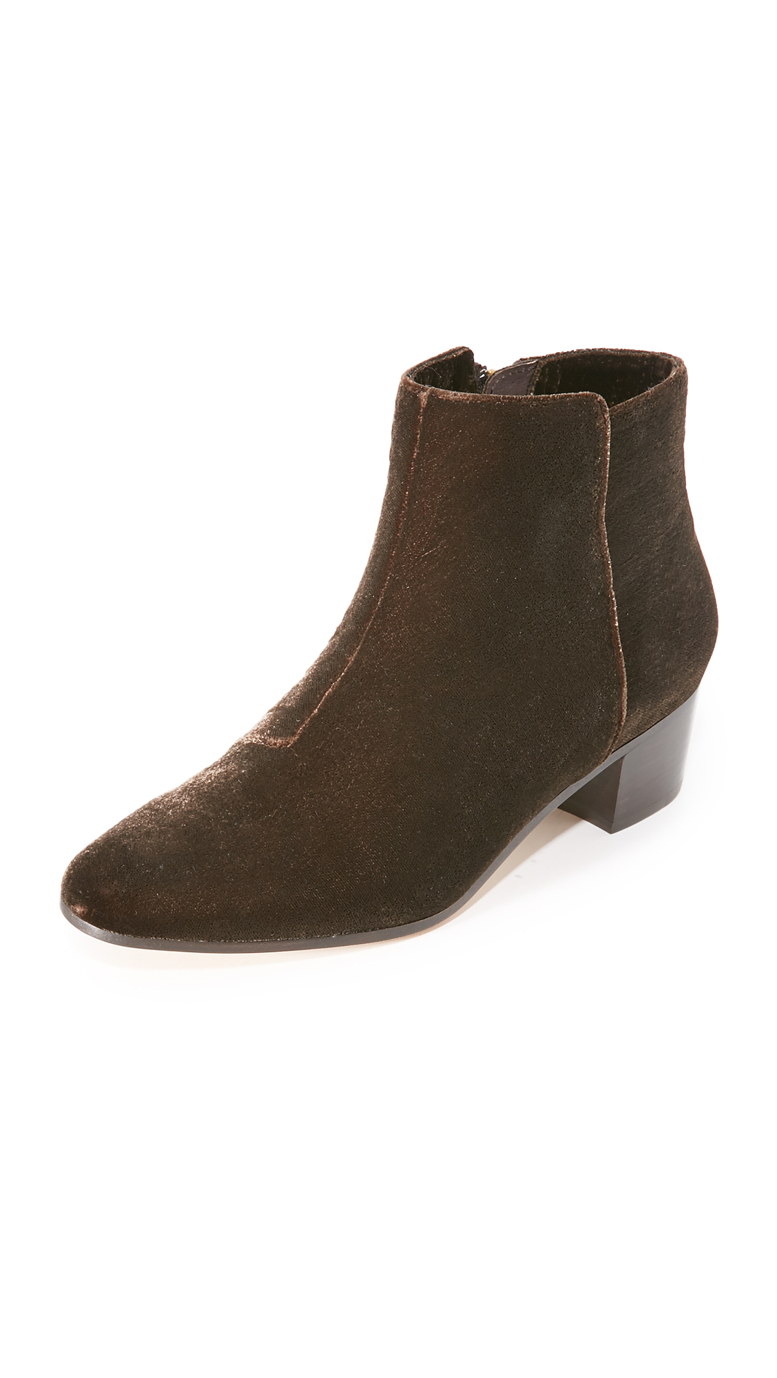 Joie Fenella Booties - Brown