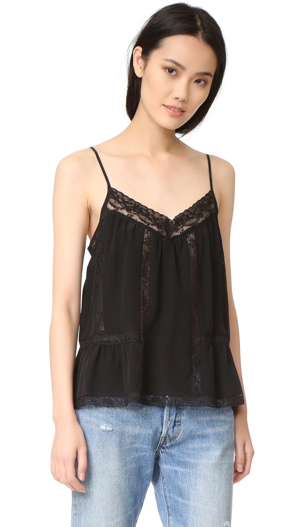 Joie Carpario Top - Vintage Caviar at Shopbop