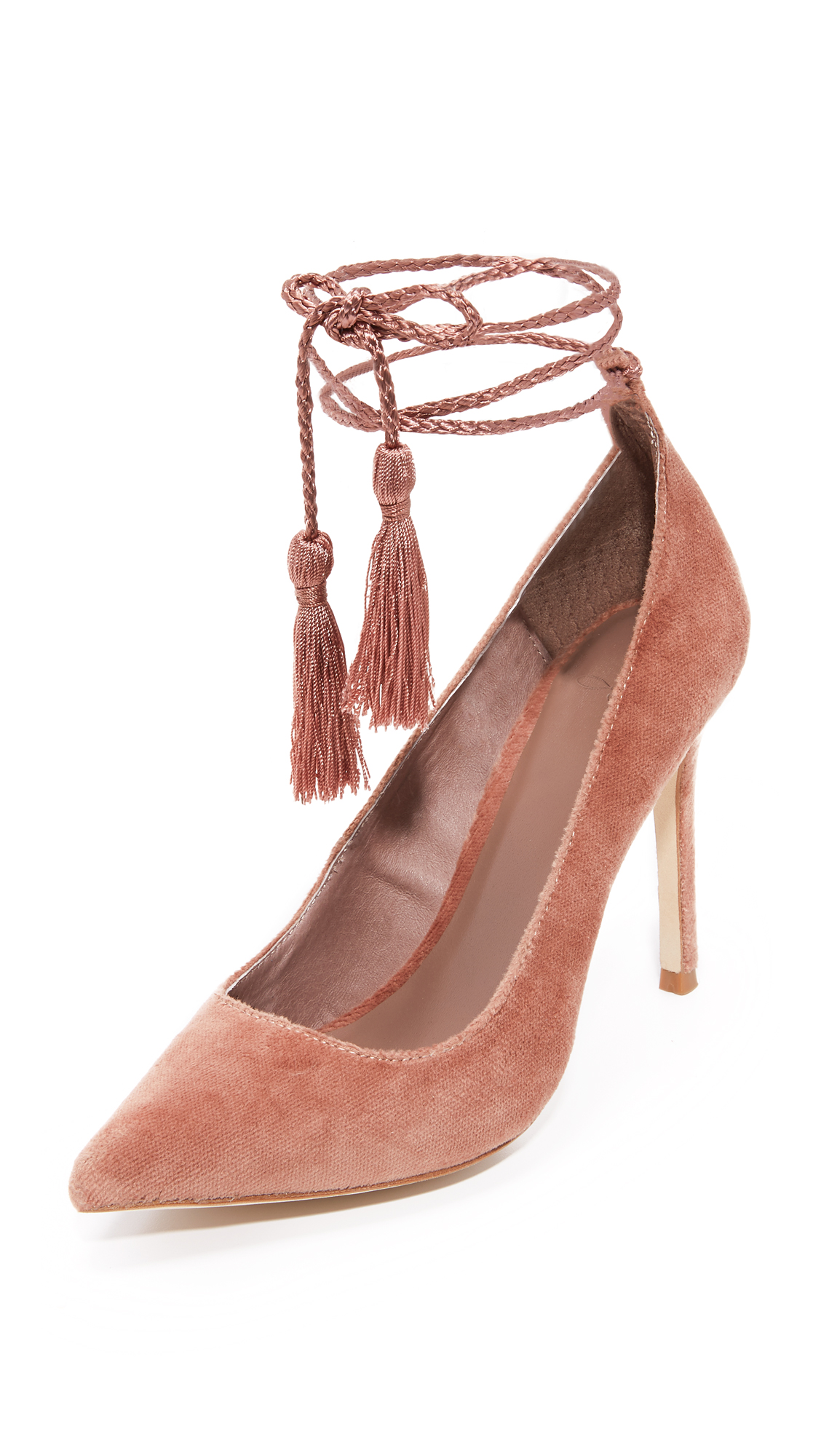 Joie Angelynn Ankle Wrap Pumps - Vintage Rose at Shopbop
