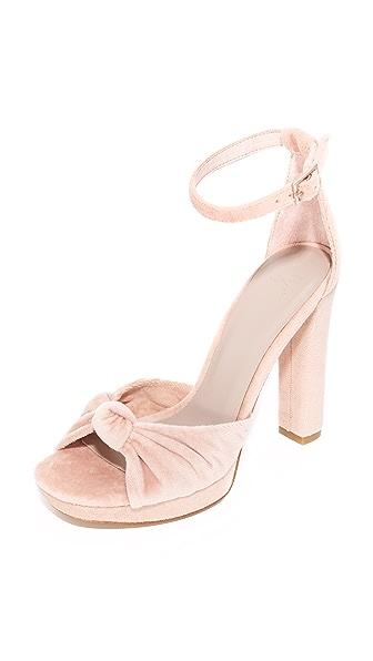 Joie Nabila Platform Sandals - Mushroom