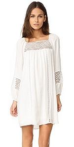 Cute Long Sleeve White Mini Dresses - SHOPBOP