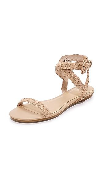 Joie Fadi Flat Sandals - Powder