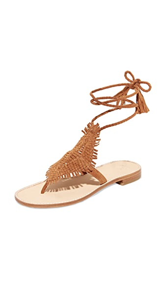 Joie Kacia Wrap Sandals - Whiskey