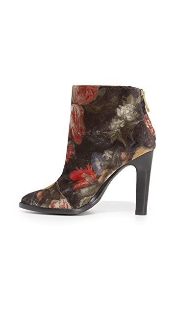 Joie Blayze Floral Booties