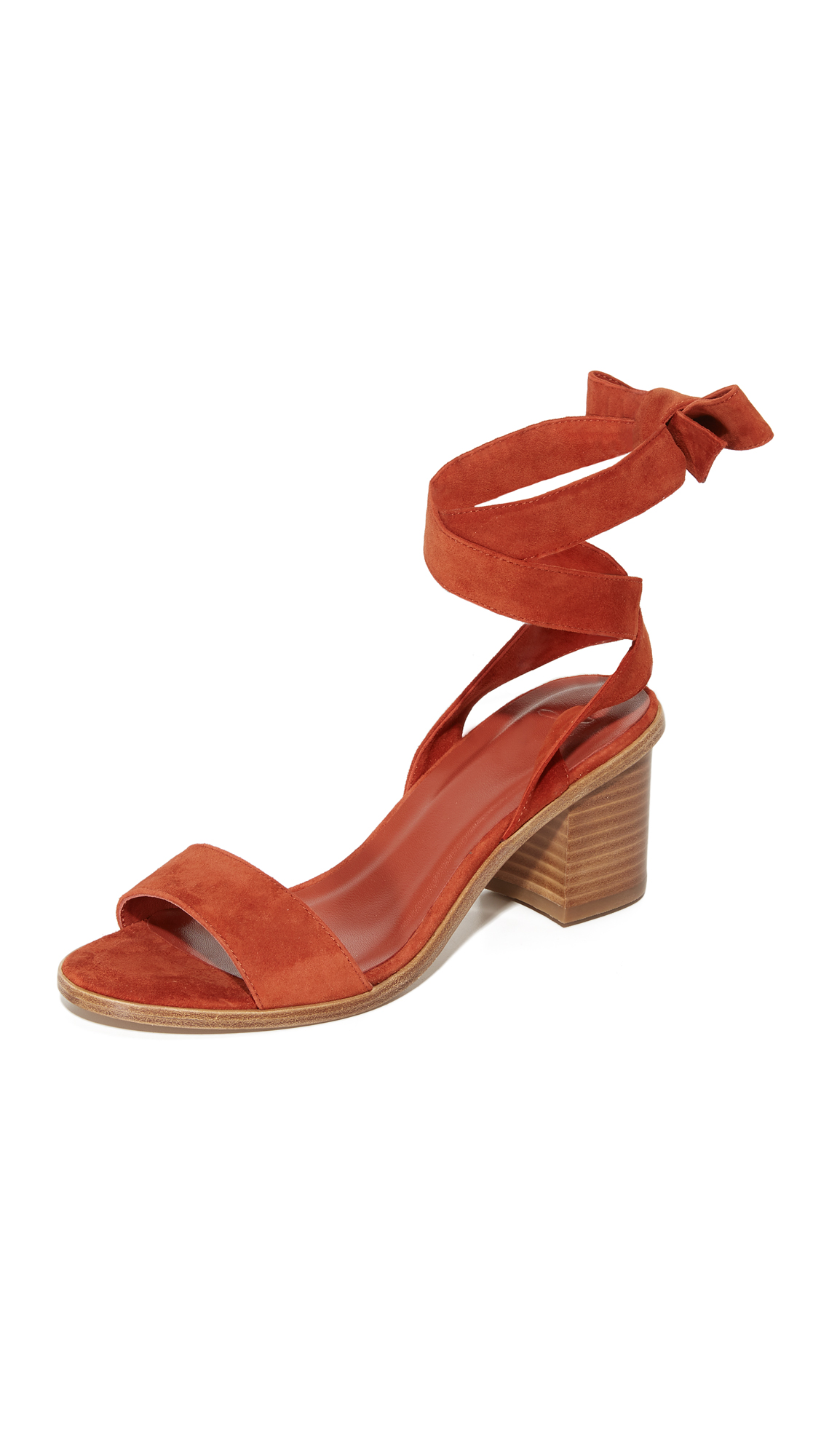 Joie Mamie City Sandals - Burn Ochre