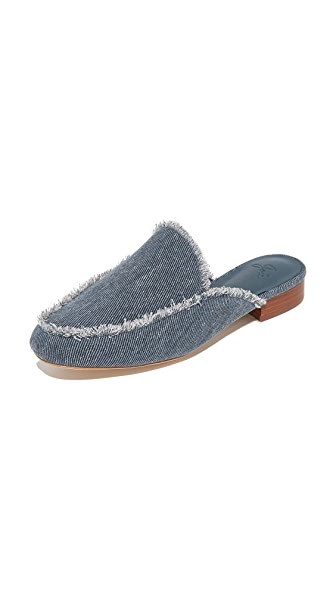 Joie Delaney Mules - Dark Denim