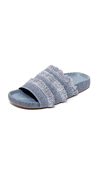 Joie Jaden Slides - Dark Denim