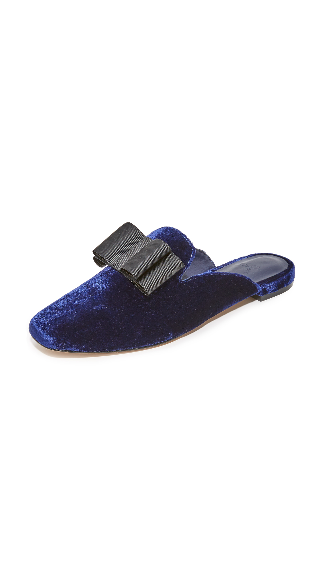 Joie Jean Bow Mules - Navy