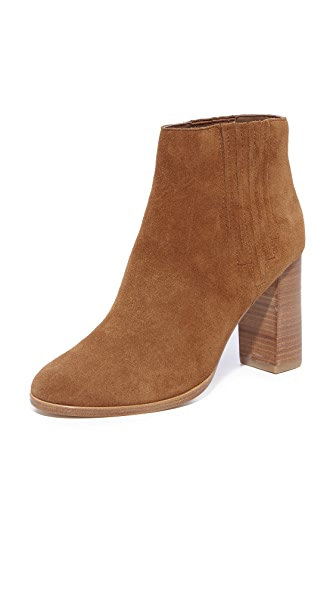 Joie Yara Booties In Burnt Umber