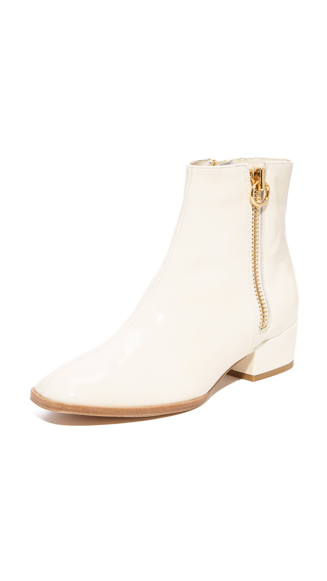 Joie Rubee Booties - Latte