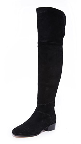 Joie Reeve Over the Knee Boots In Black