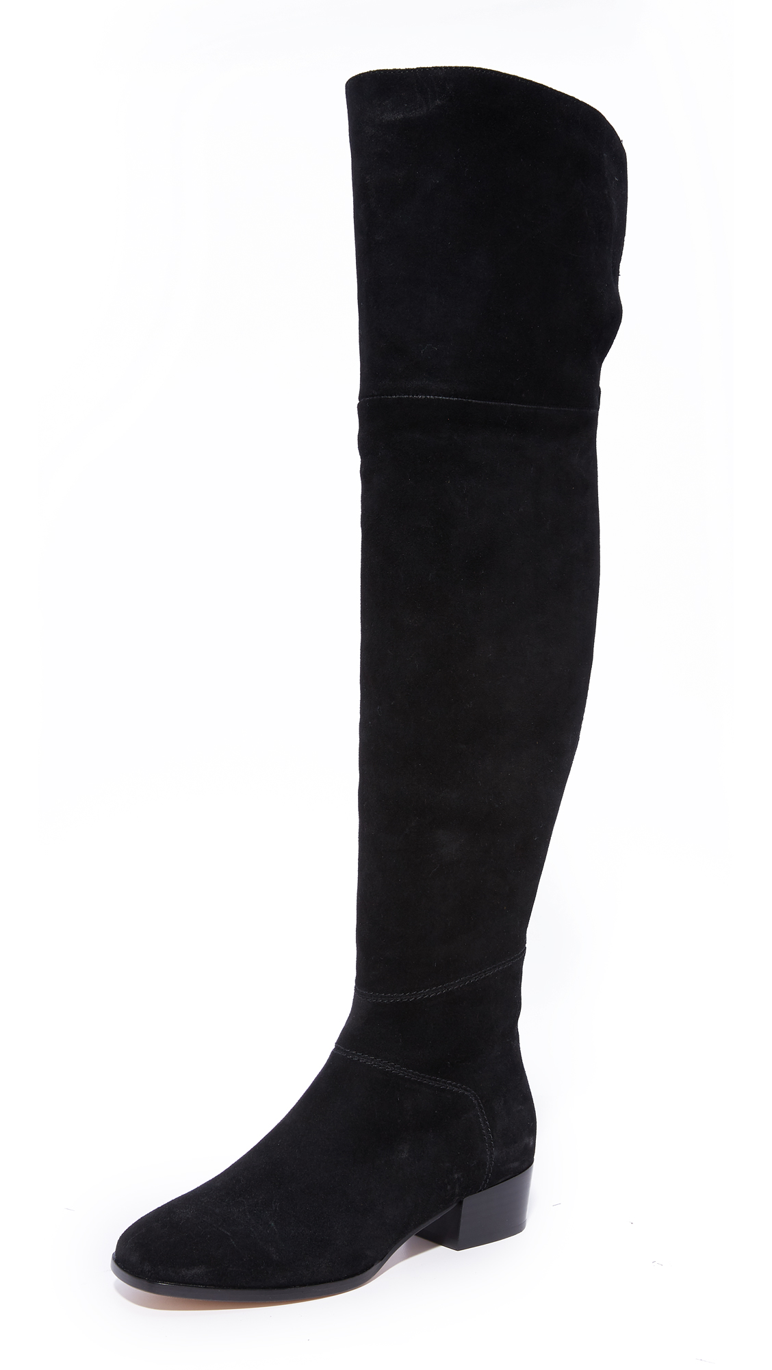 Joie Reeve Over the Knee Boots - Black