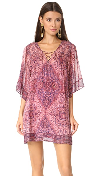 Joie Hadiya Dress In Medina Mauve