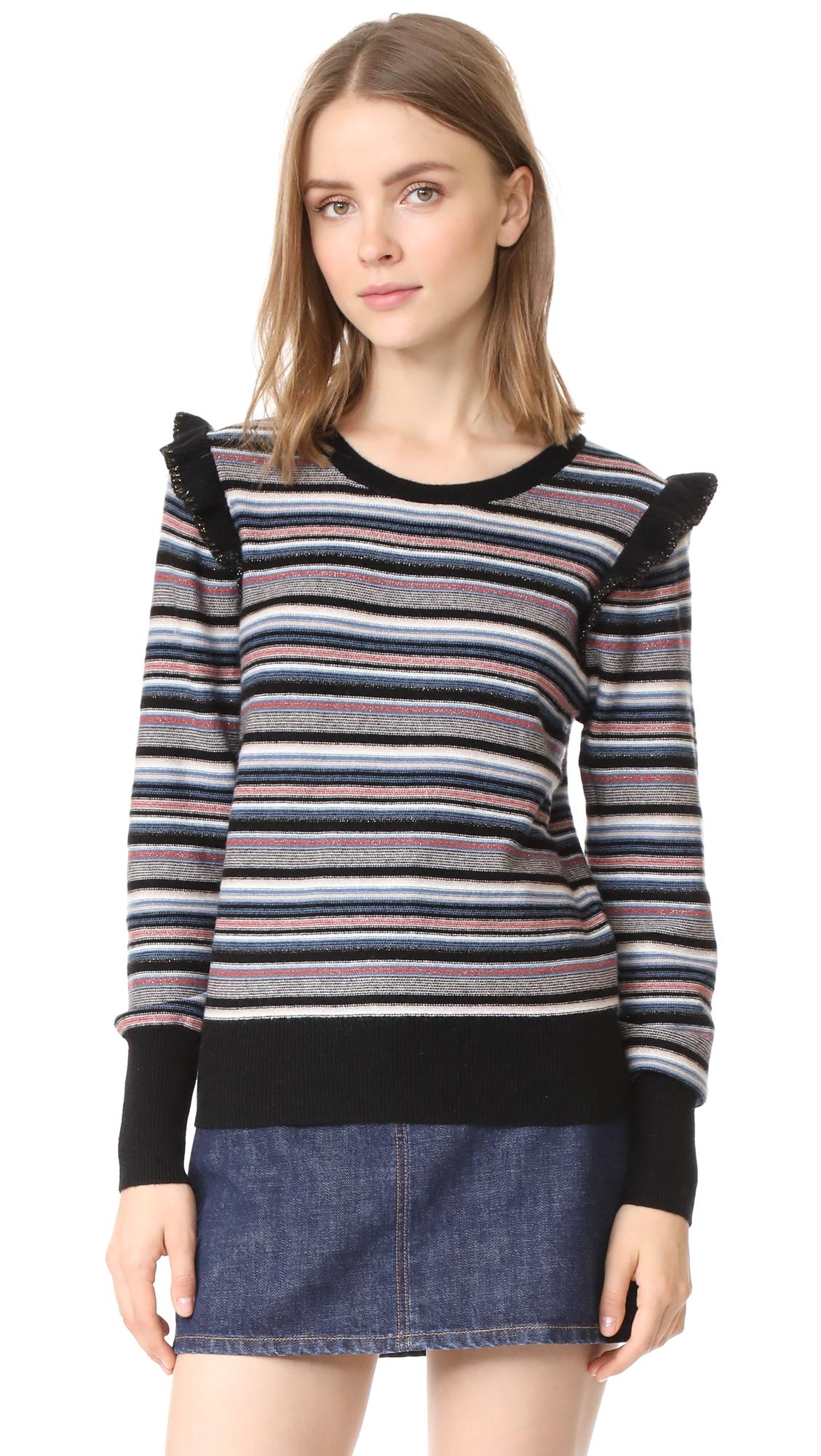 Joie Cais C Sweater - Multi Stripe
