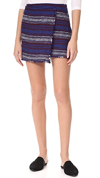 Joie Genae Skirt In Dark Navy Multi