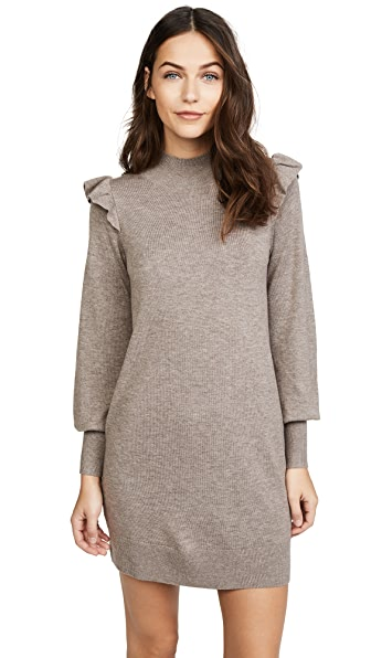 Joie Catriona Dress In Heather Mushroom