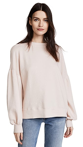 Joie Isae Puff Sleeve Sweatshirt at Shopbop
