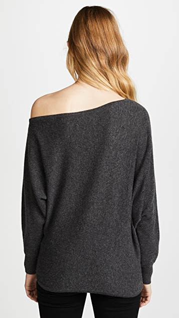 Joie Helice Off Shoulder Cashmere Sweater