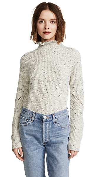 Joie Adaliz Sweater In Porcelain