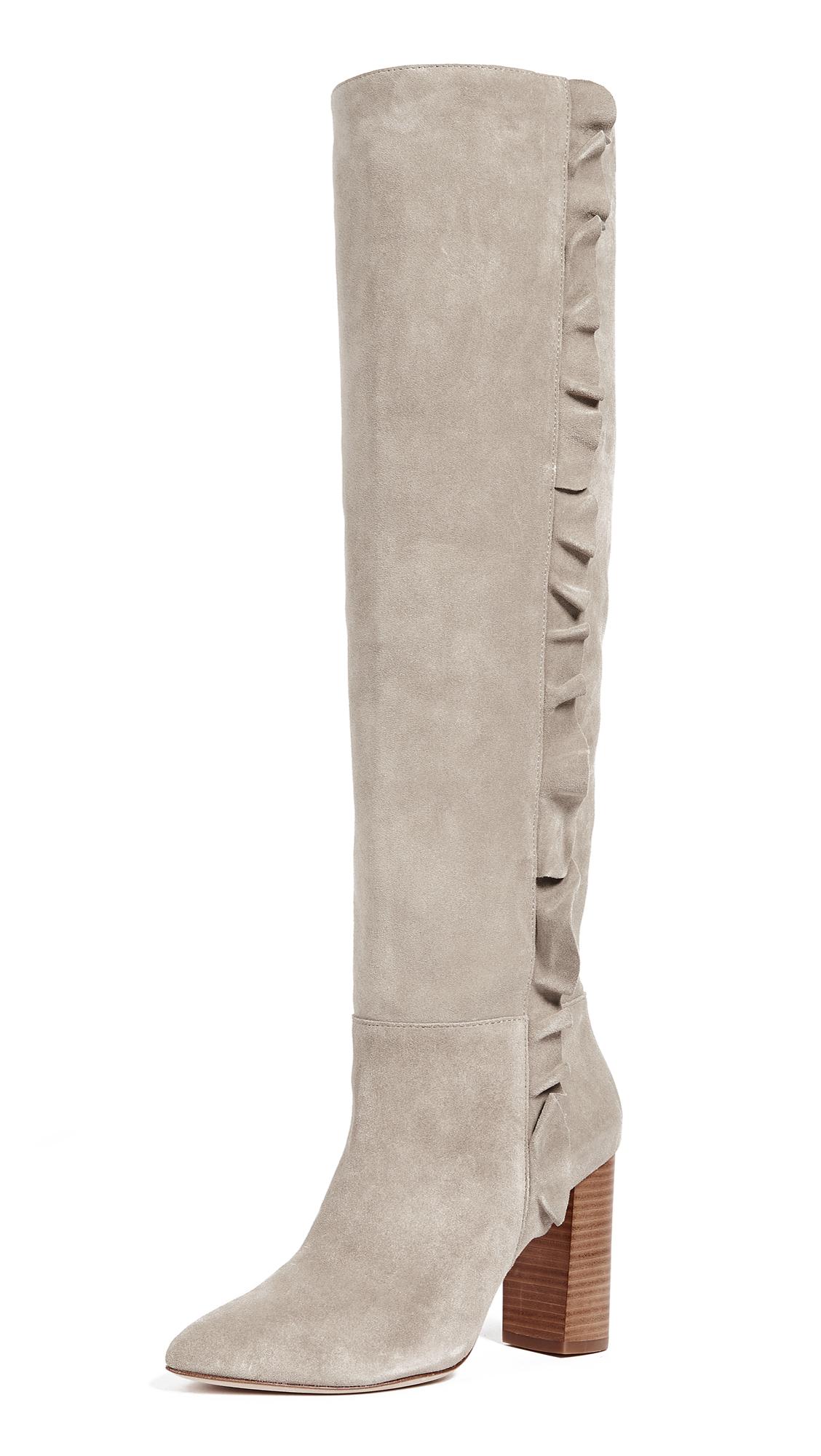 Joie Laisha Boots - Pale Grey