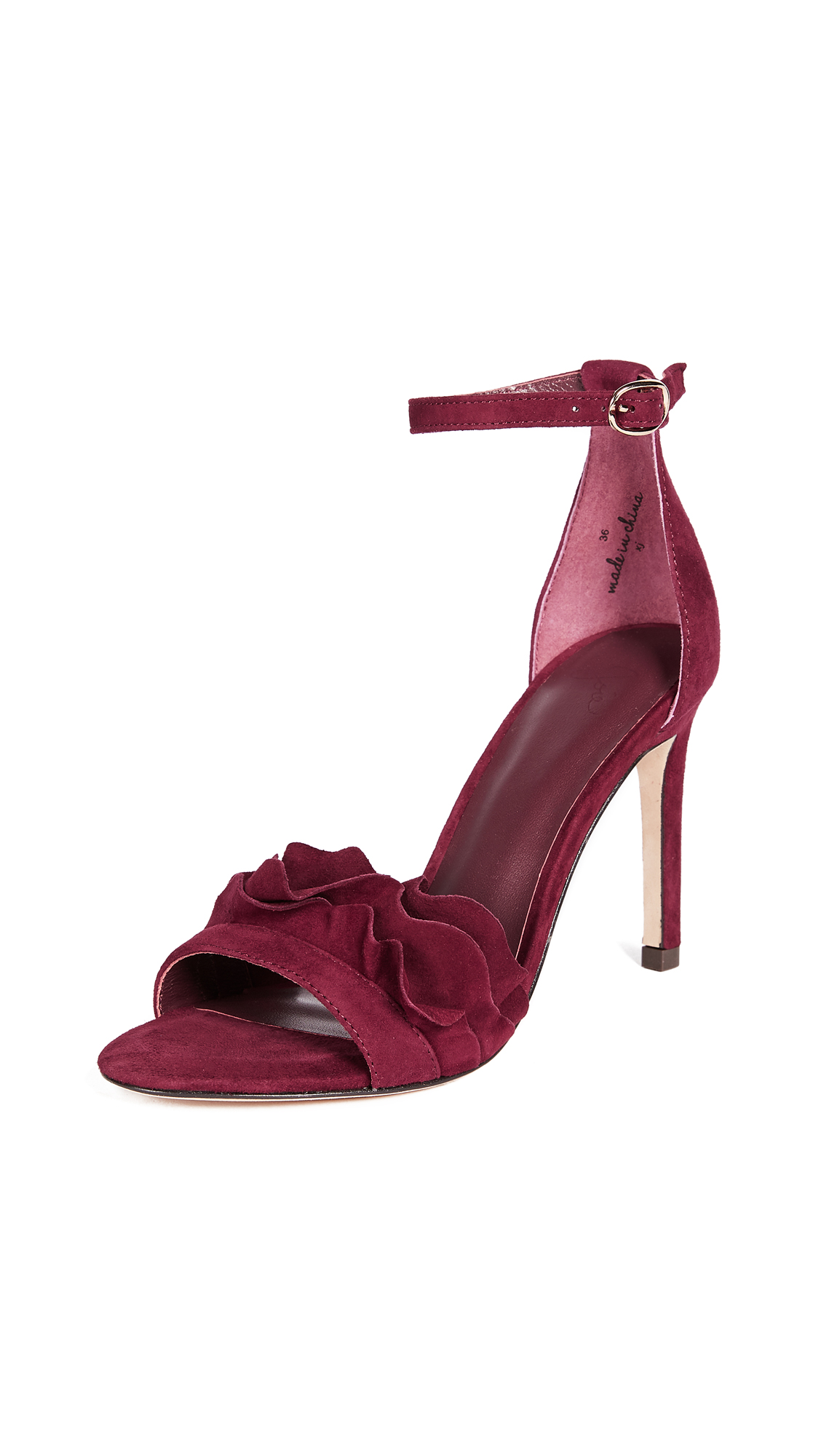Joie Abigail Sandals - Deep Ruby
