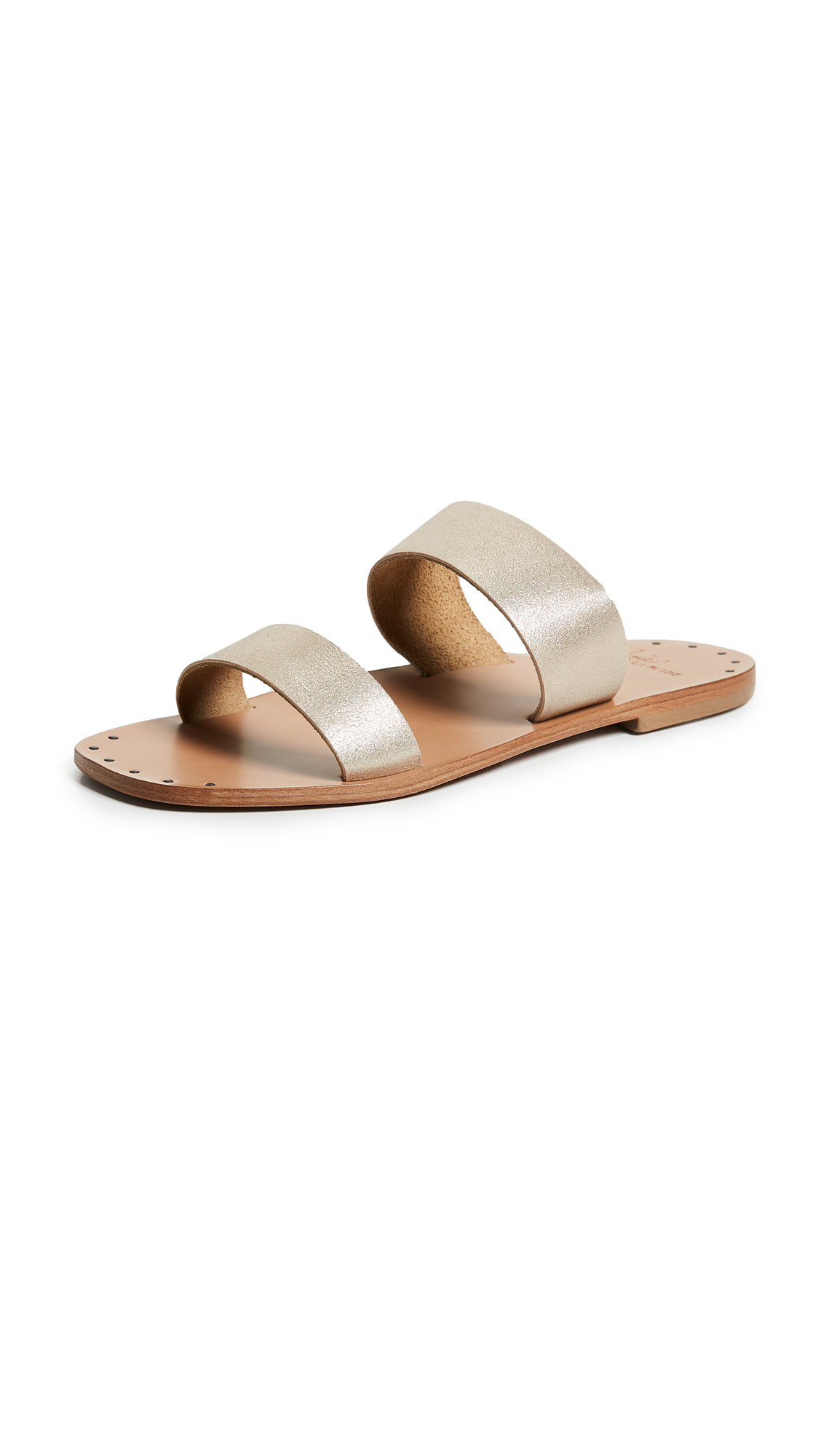 Joie Bannerly Two Band Slides - Blush