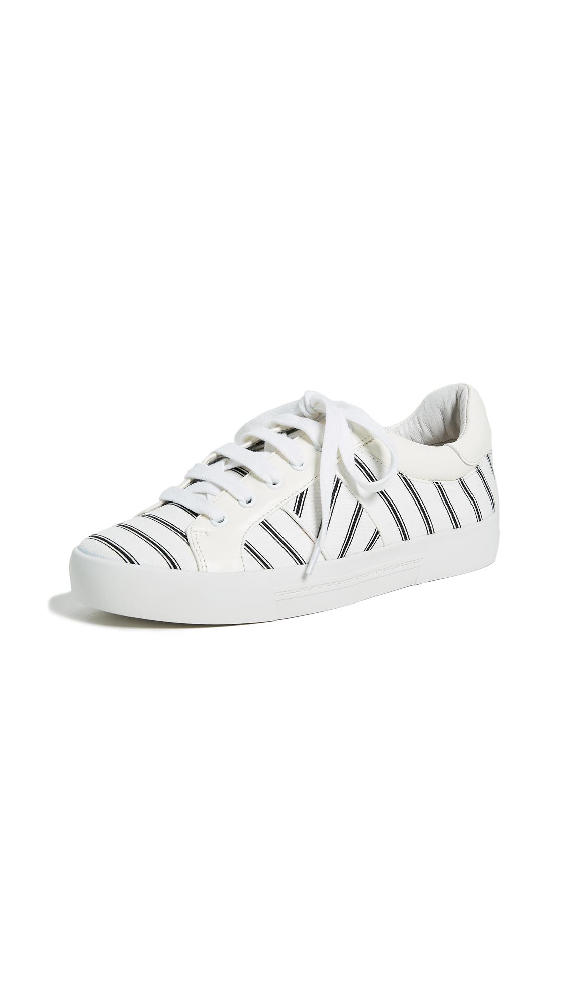 Joie Dakota Sneakers - Caviar/Porcelain