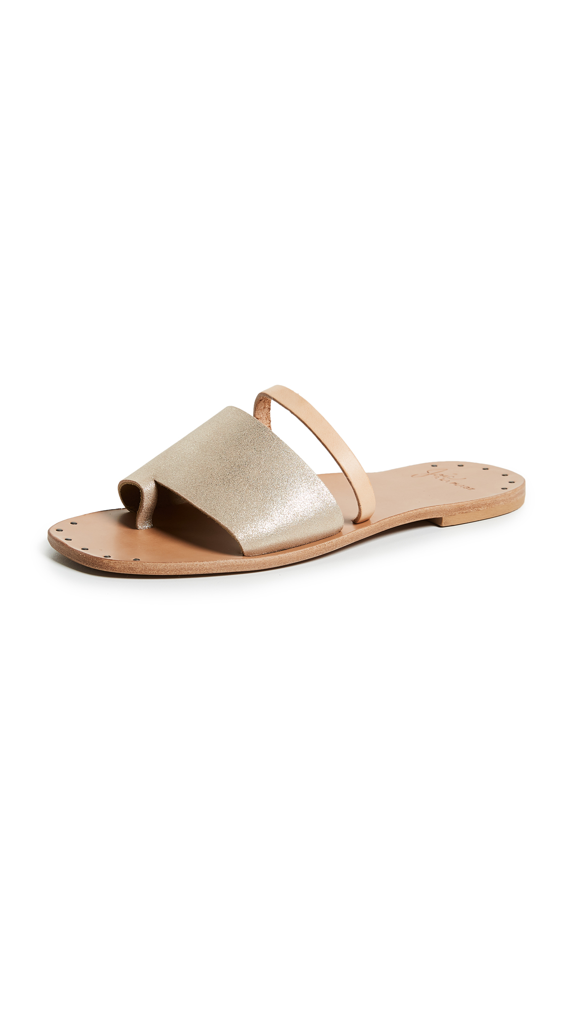 Joie Ballifly Slide Sandals In Blush