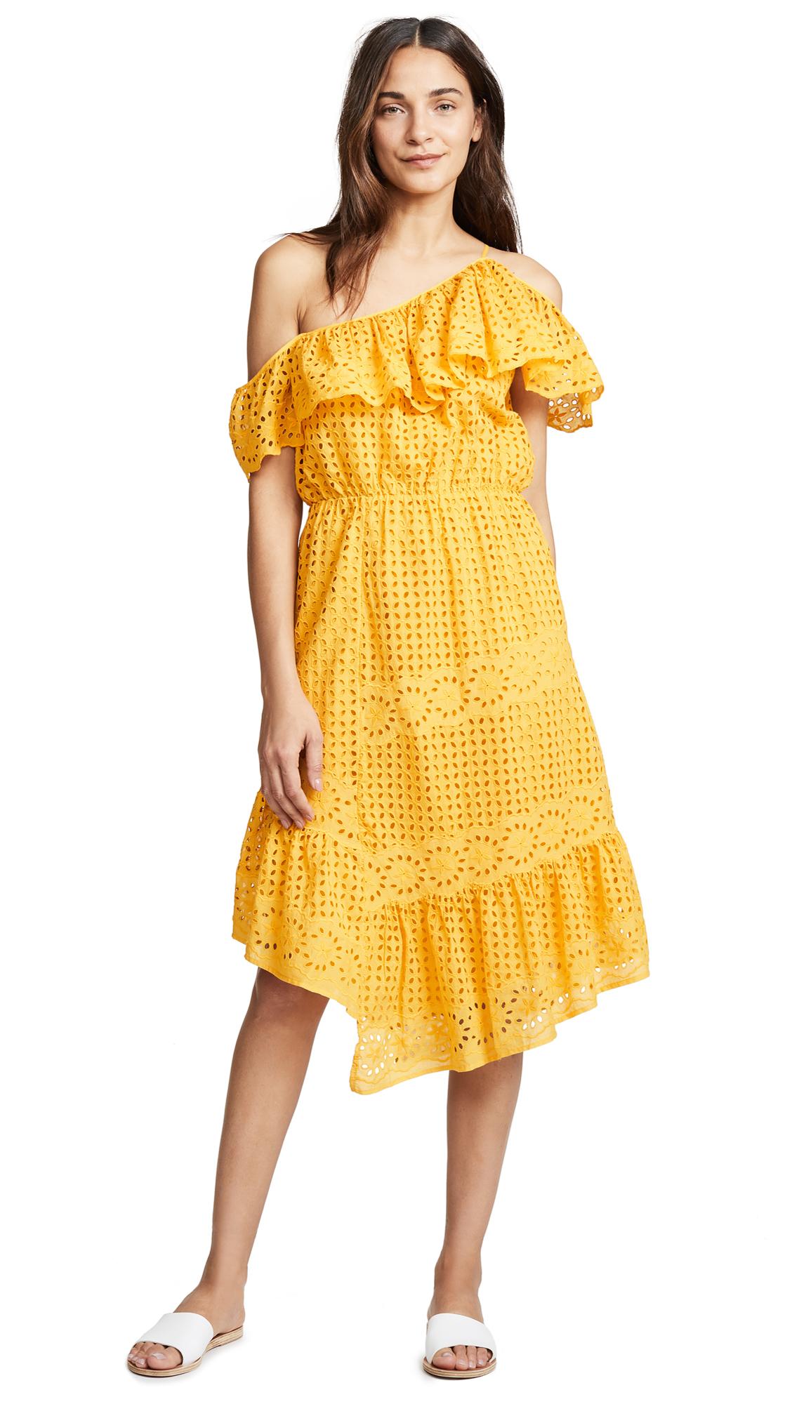 Joie Corynn Dress In Cornsilk