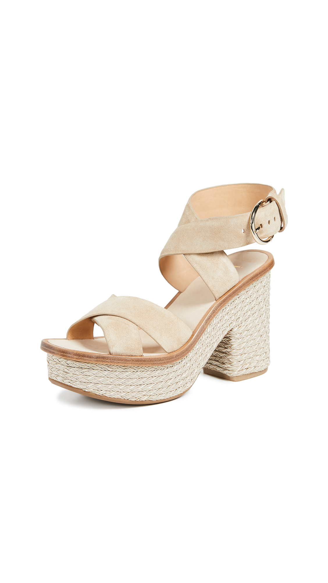 Joie Tanglee Platform Sandals - Sand