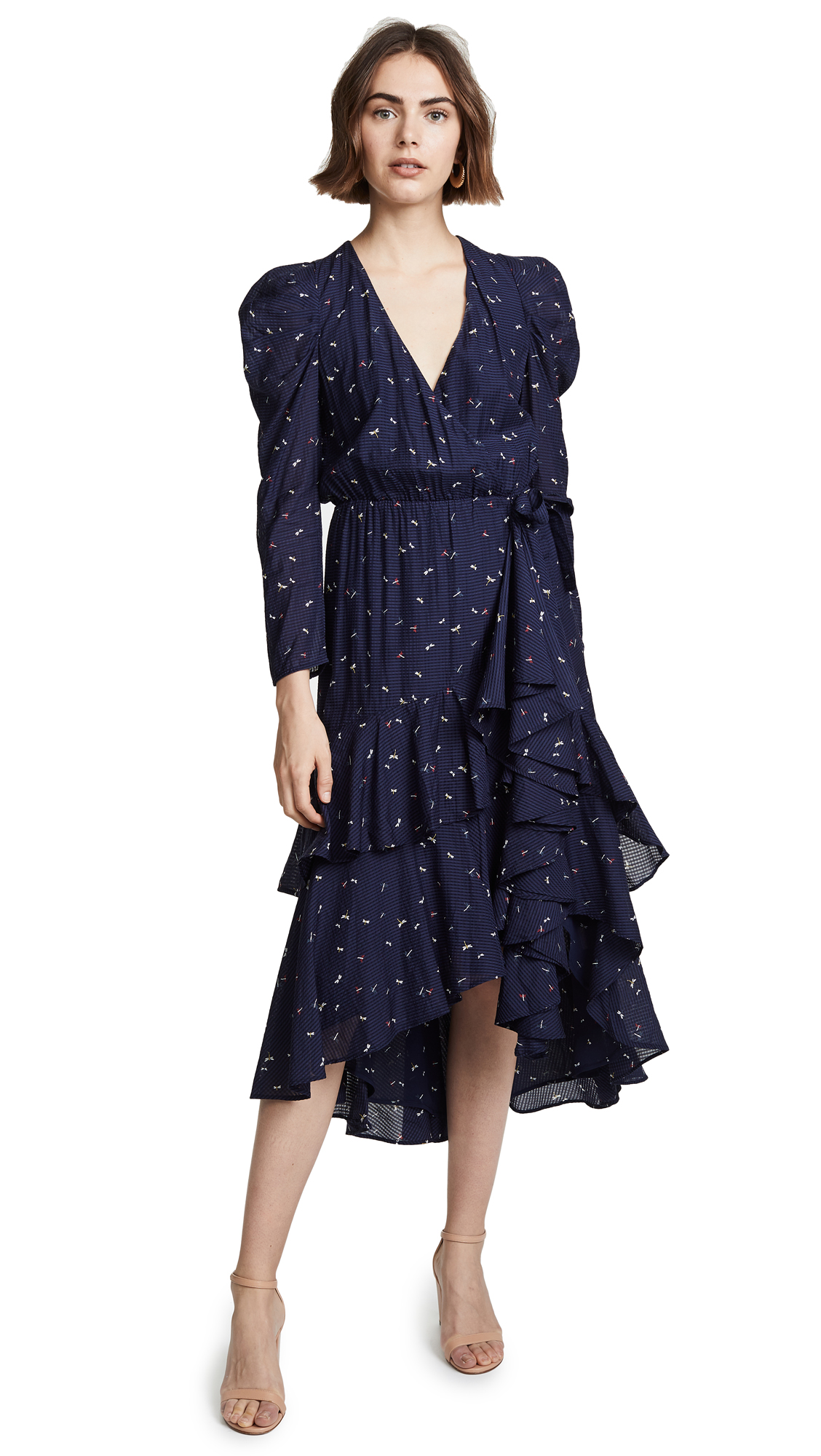 Joie Miraly Dress In Midnight