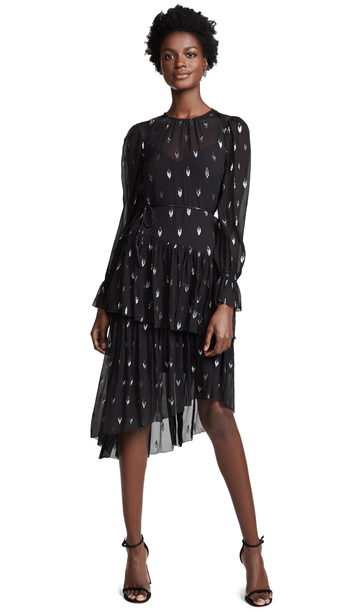 Joie Maylene Dress In Caviar