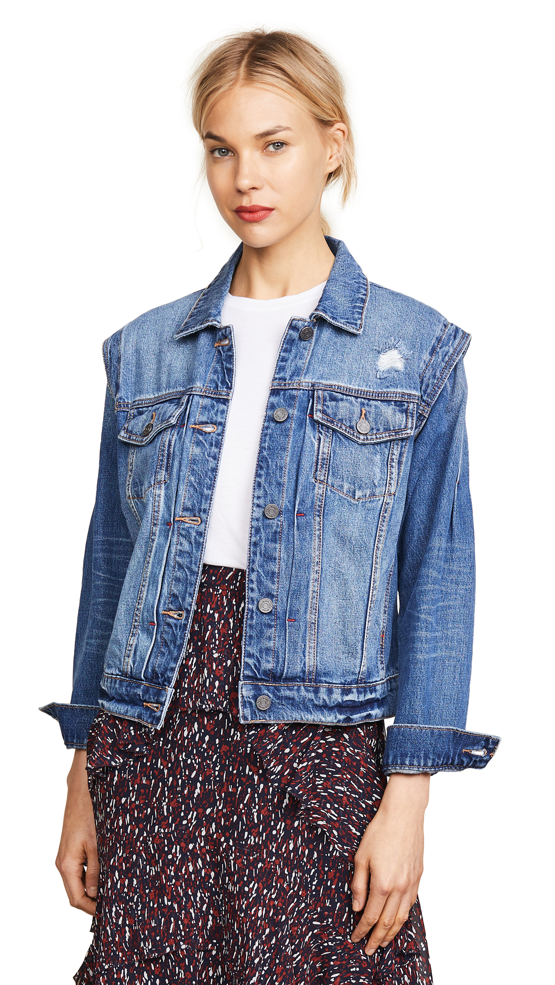 Joie Demanda Jacket In Indigo Sky
