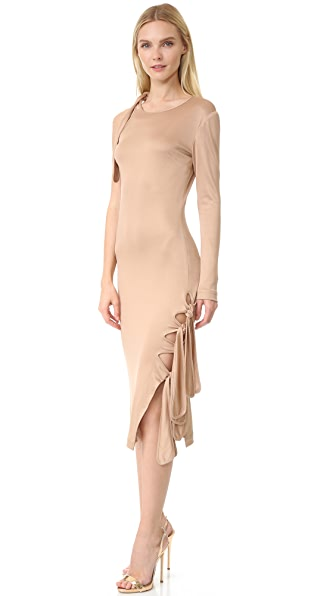 Jonathan Simkhai Milano Dress - Nude